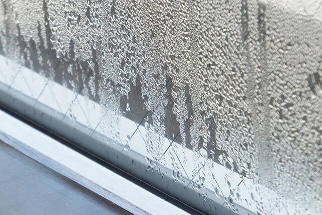 窓の故障・劣化の原因! 窓に結露ができる原因と対策