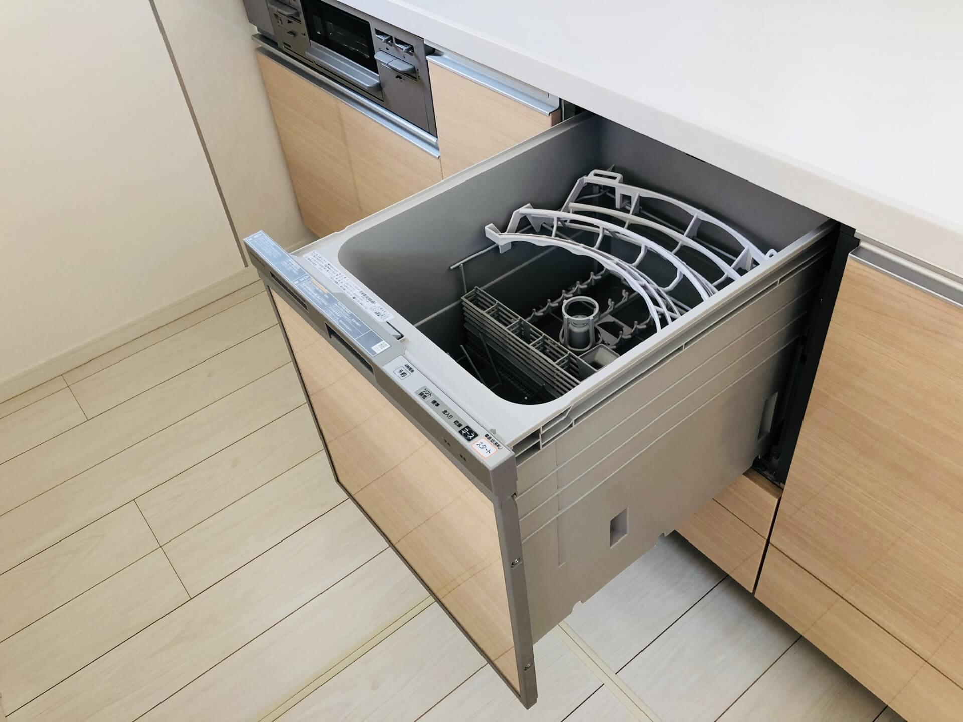 食洗機を簡単に掃除する方法