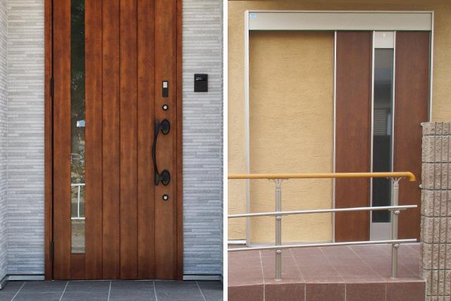 玄関扉(玄関ドア)の種類とその特徴を解説! 選び方もご案内