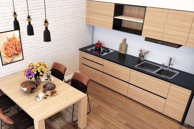 壁付けキッチンのメリット・デメリットについてわかりやすく解説