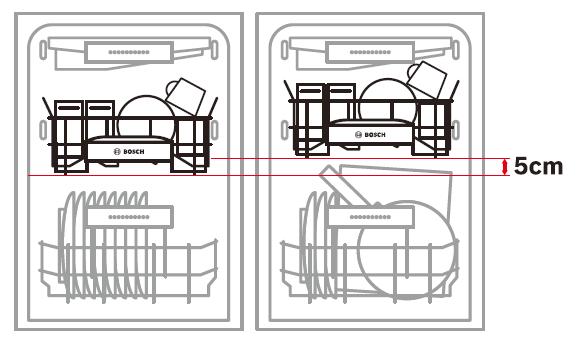 BOSCH ビルトイン食洗機 ラック