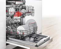 広い庫内&収納力 BOSCH 食器洗い機
