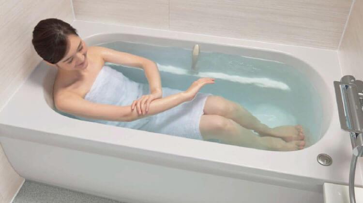 新まゆ形浴槽