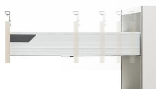 ソフトクローズ機構スライドレール