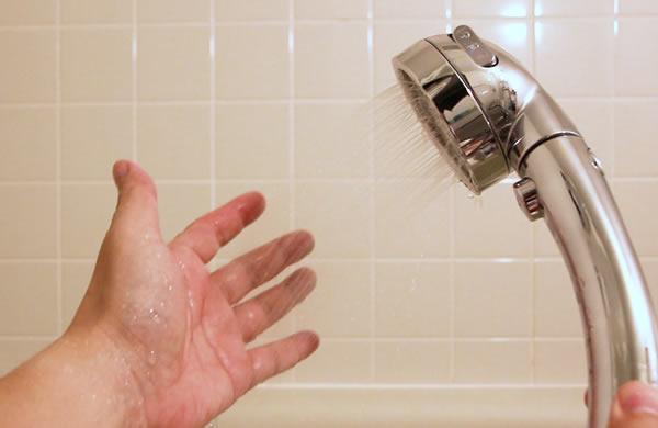 水圧チェック