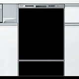 ブラック  オリジナルドアパネル 当店オリジナル ●食器洗い乾燥機本体をご購入のお客様のみの販売≪ORG-DOOR-PANEL-BLACK≫