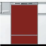 アカネレッド  オリジナルドアパネル 当店オリジナル ●食器洗い乾燥機本体をご購入のお客様のみの販売≪ORG-DOOR-PANEL-AKANE-RED≫